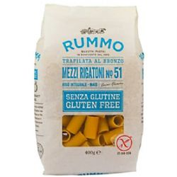 Rummo Gluten Free Rigatoni | No. 50 | Buy Online | Italian Ingredients | UK | Europe